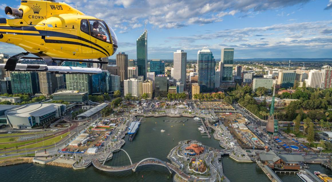 Perth Scenic Weekend Flight - 10 Minutes - For 2