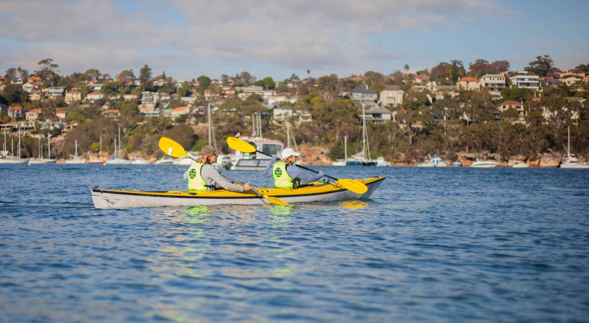 Kayak fishing tours sydney