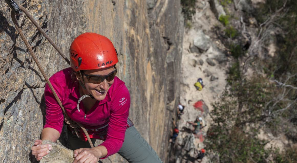 Rock Climbing Weekend Adventure