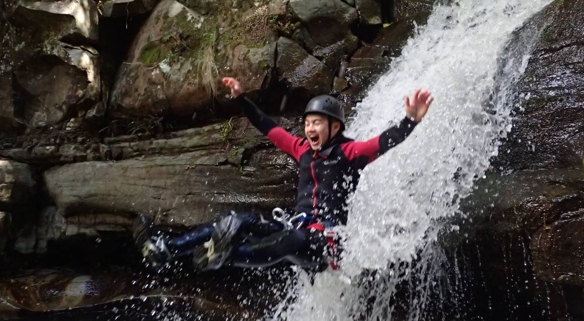 Rainforest Canyoning Adventure