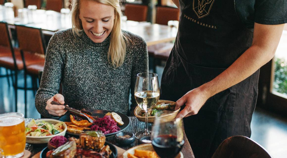 Meat Dining Experience with Wine - For 2 - Hillarys
