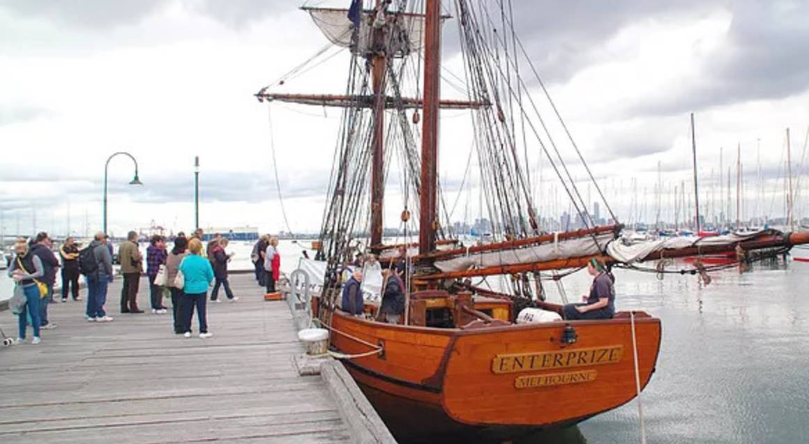 Tall Ship Harbour Cruise from Williamstown - Family