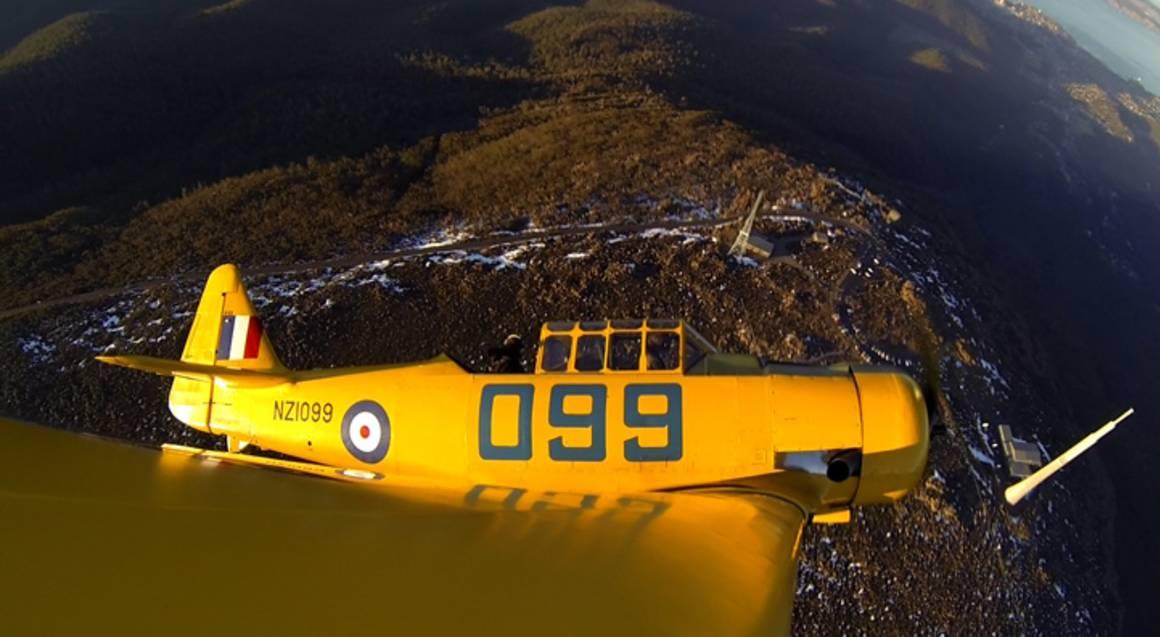 Warbird Adventure Flight Over Hobart - 20 Minutes