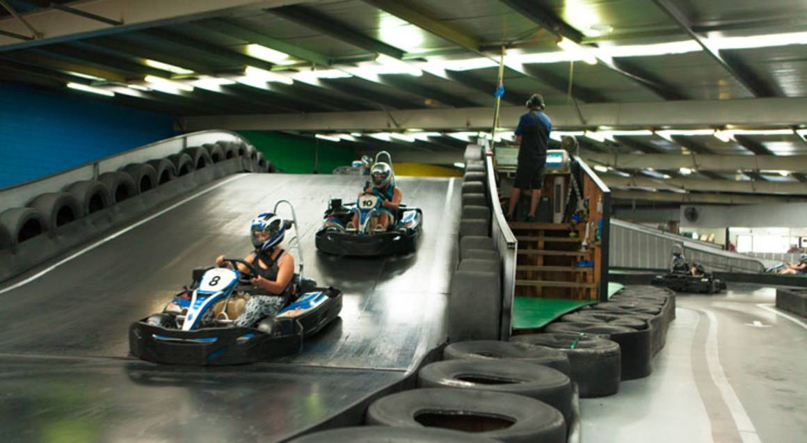 Indoor and Outdoor Go Karting Experience - 40 Minutes