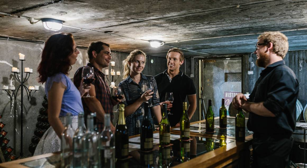Winery Escape with Dinner, Bubbles and Breakfast - For 2
