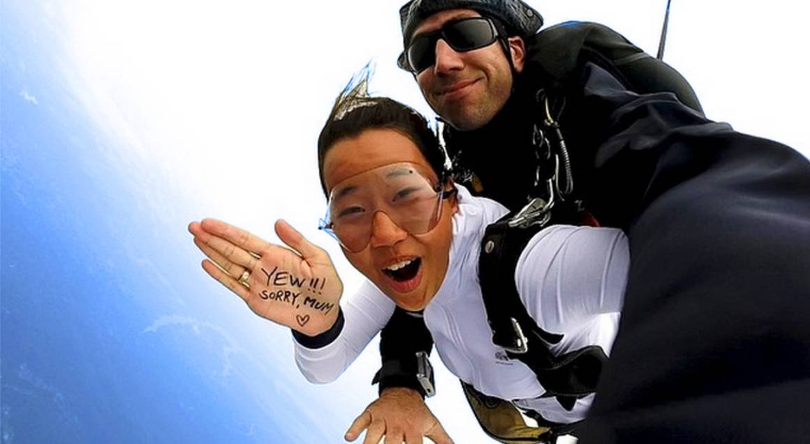 Skydive over the Beach - 15,000ft - Brisbane - Midweek