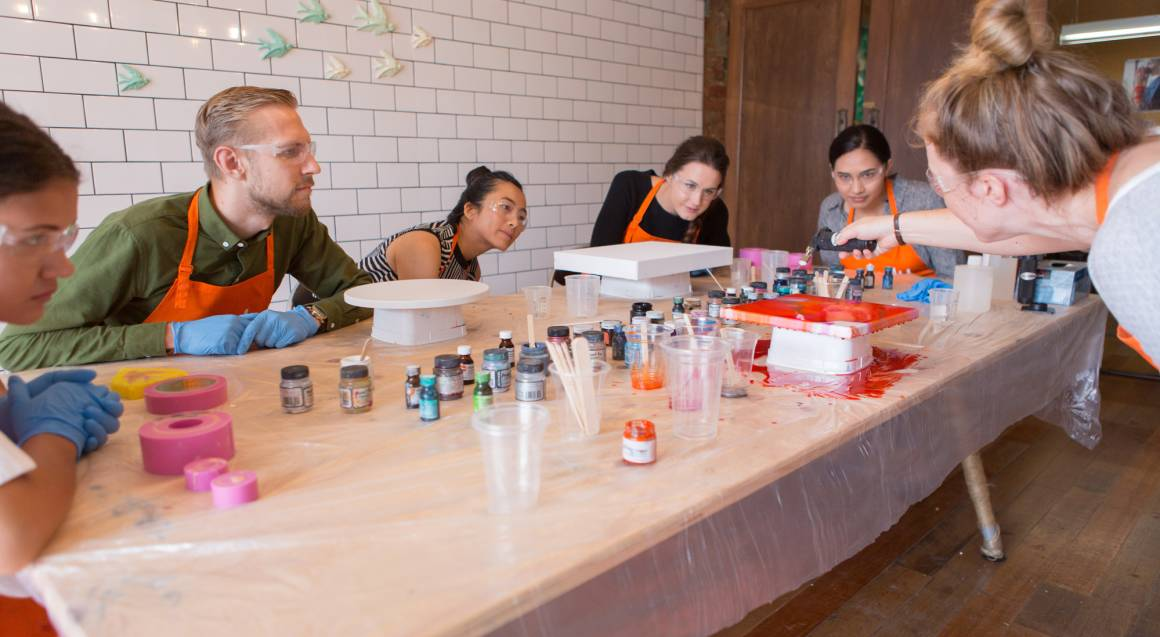 Resin Art Workshop - Chatswood, NSW
