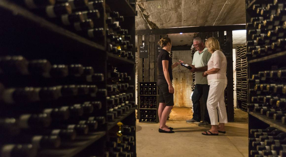 Three Course Lunch with Guided Wine Tasting and Tour - For 2