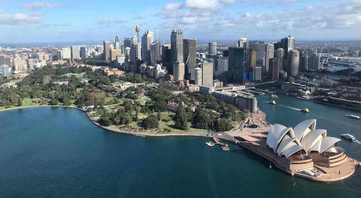 Sydney Harbour Twilight Scenic Flight - For up to 3
