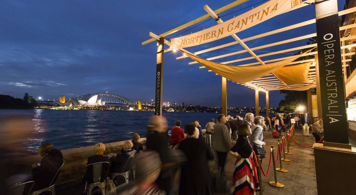 Open Air Opera on Sydney Harbour