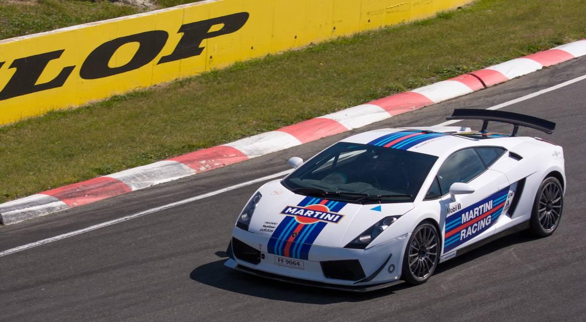 Drive a Lamborghini Race Car at Baskerville Raceway- 10 Laps