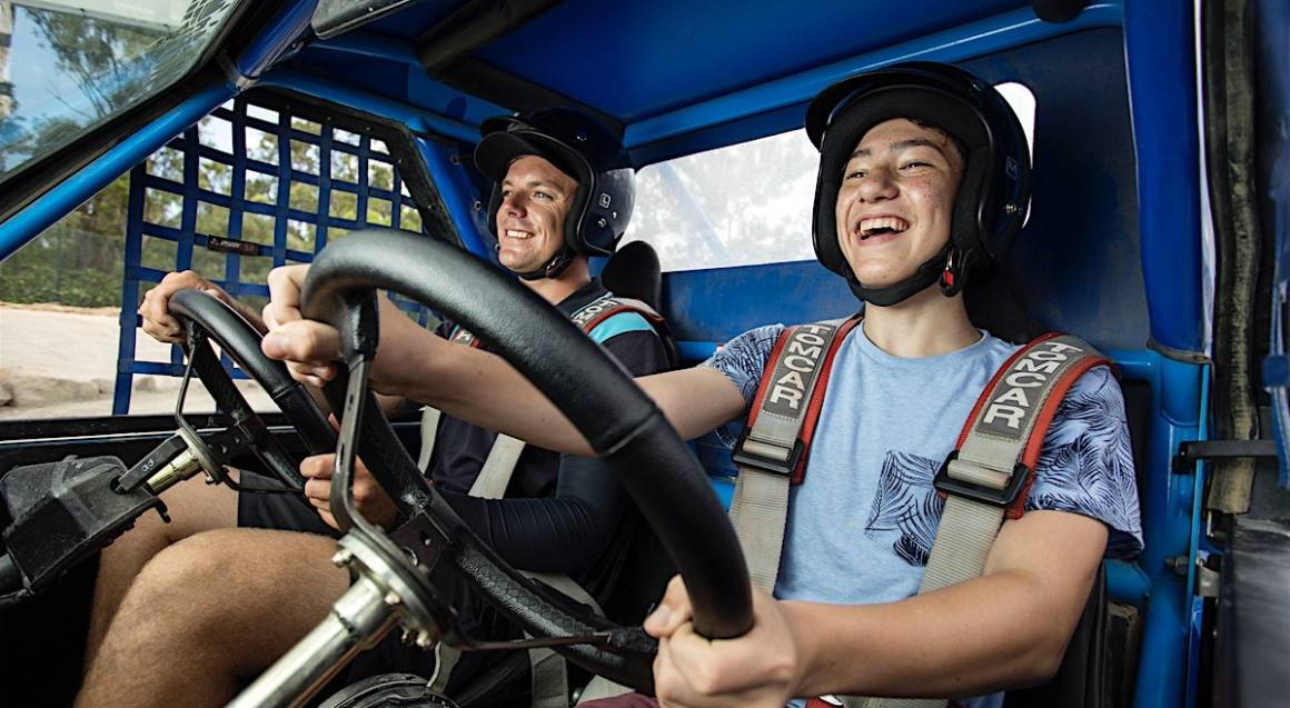 Off Road Buggy Drive - Adult and Child Combo - 6 Laps