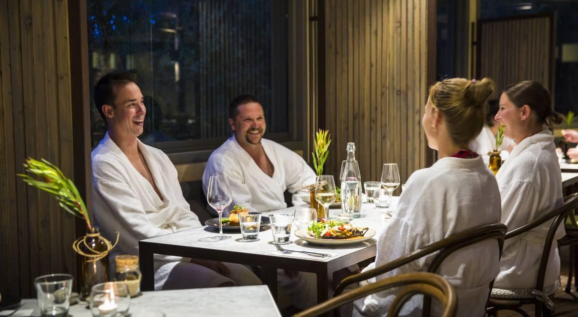 Hot Springs Wine, Dine and Rejuvenate - Thursday for 2