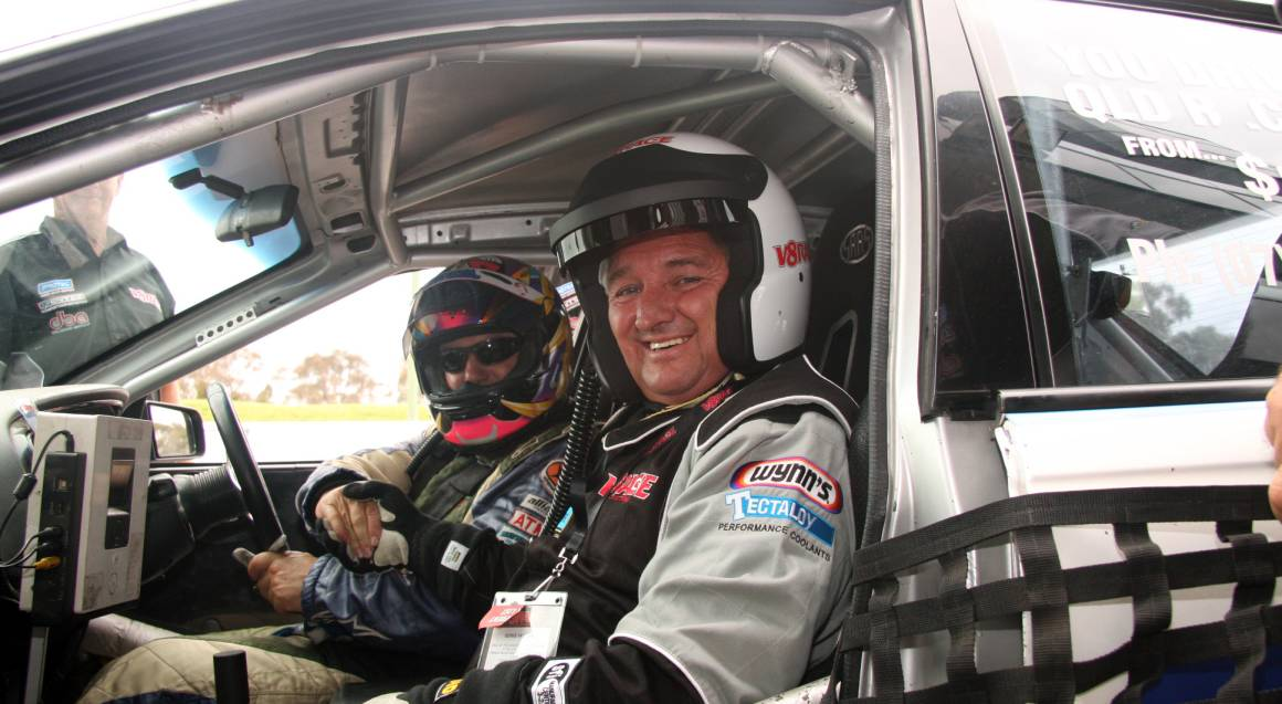 V8 Race Car Front Seat Hot Laps Ride - 3 Laps - Perth - WA