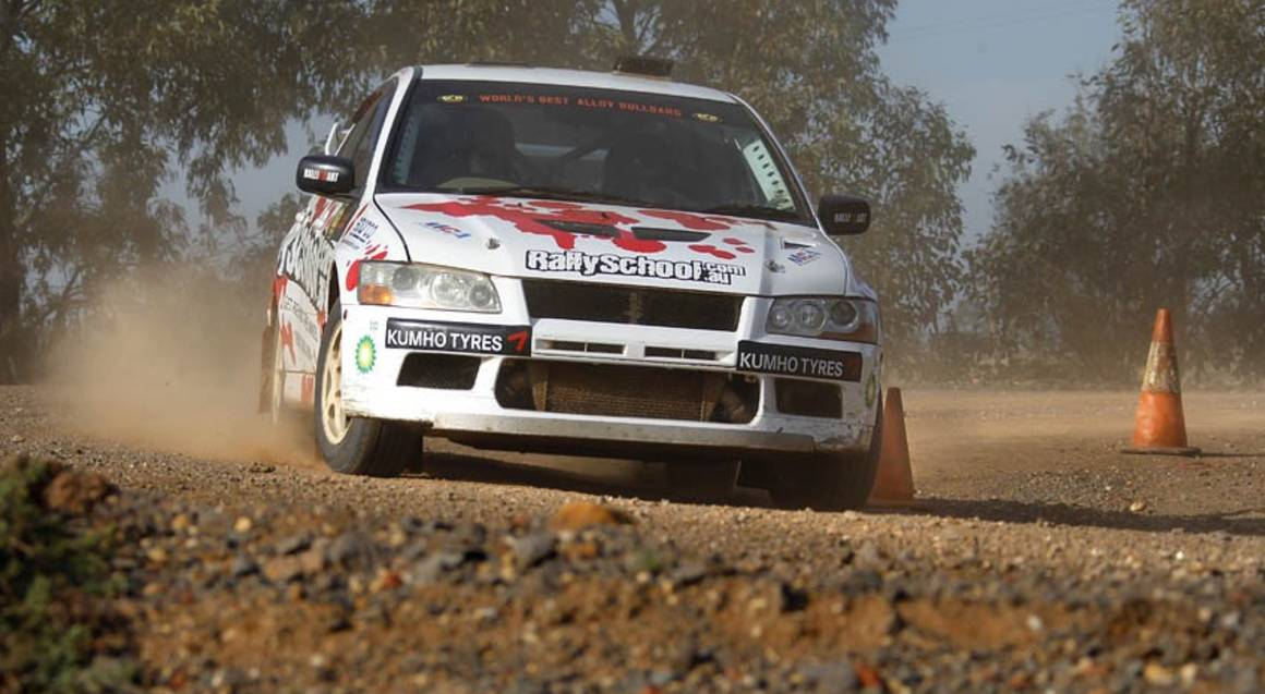 Rally Drive with Hot Lap Experience - 9 Laps - Adelaide