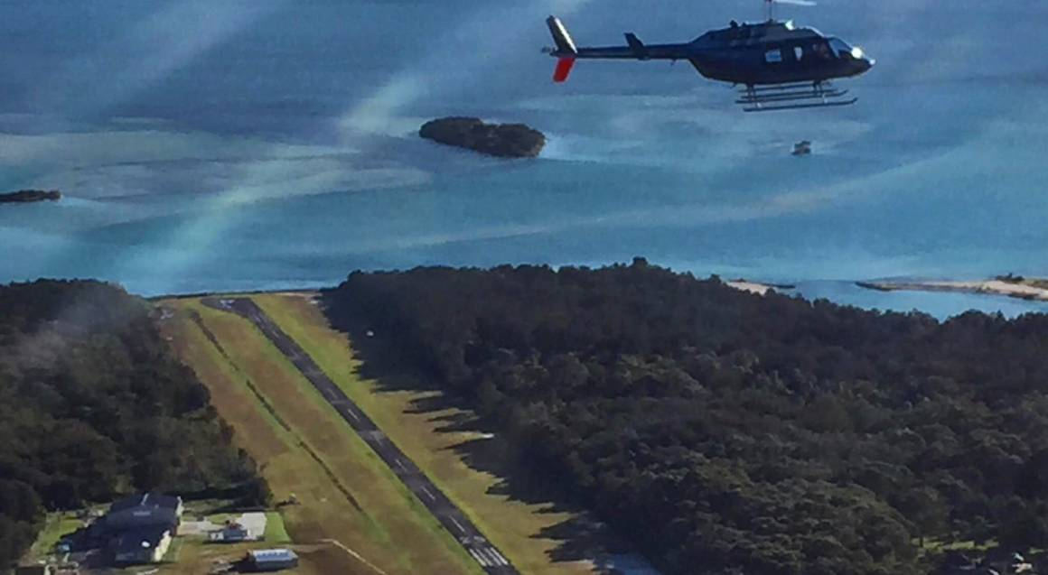 Scenic Helicopter Flight Over Lake Macquarie - For 2
