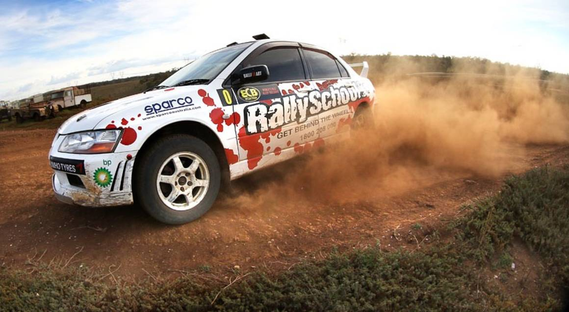 Rally Combo Experience - 10 Laps - QLD - UPGRADE