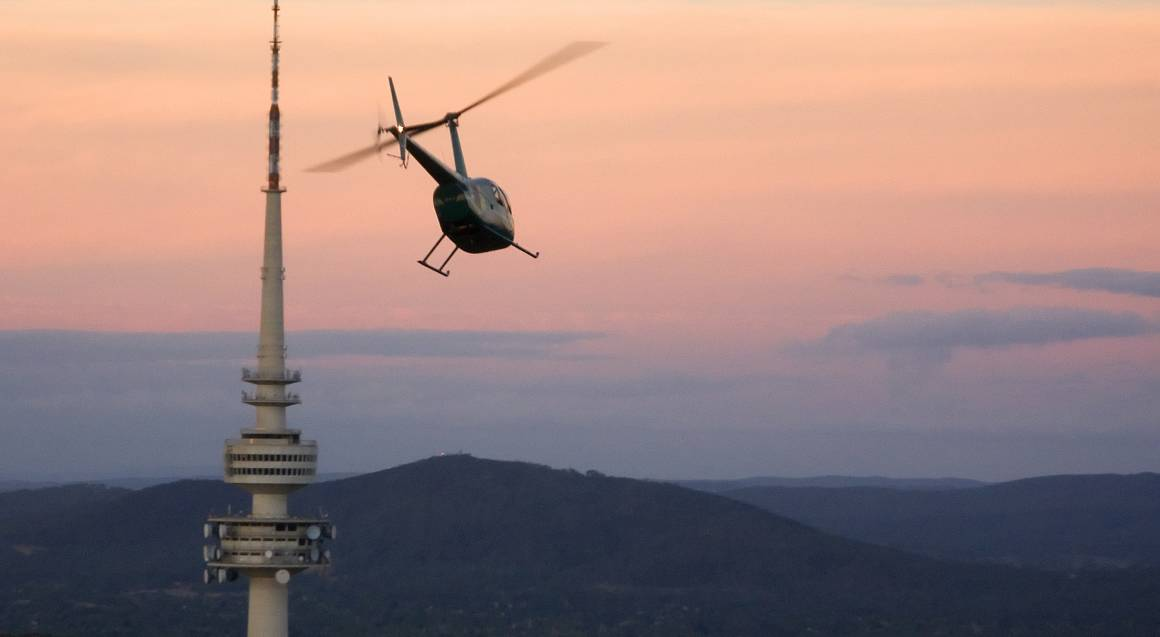 Helicopter Flight Over Canberra - 15 Minutes - For 2