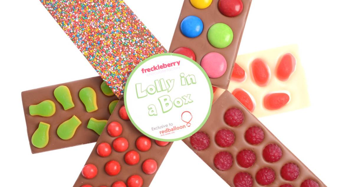 Freckleberry Belgian Chocolate and Lollies Gift Pack