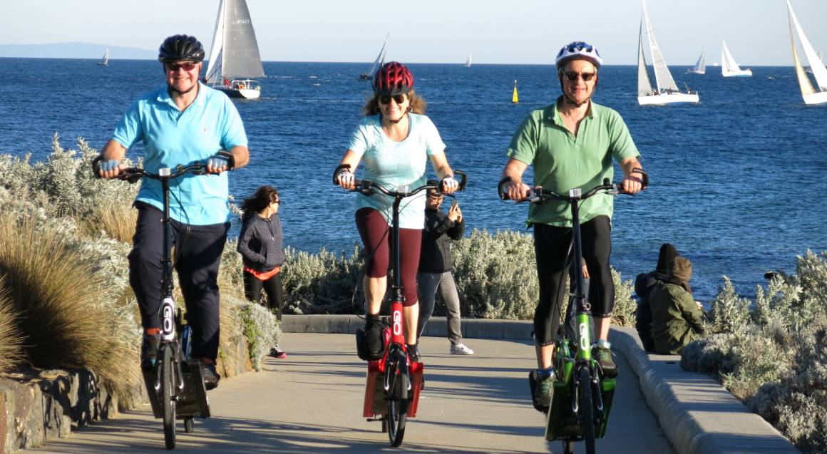 ElliptiGO Bike Scenic Bay Ride Tour - 2 Hours