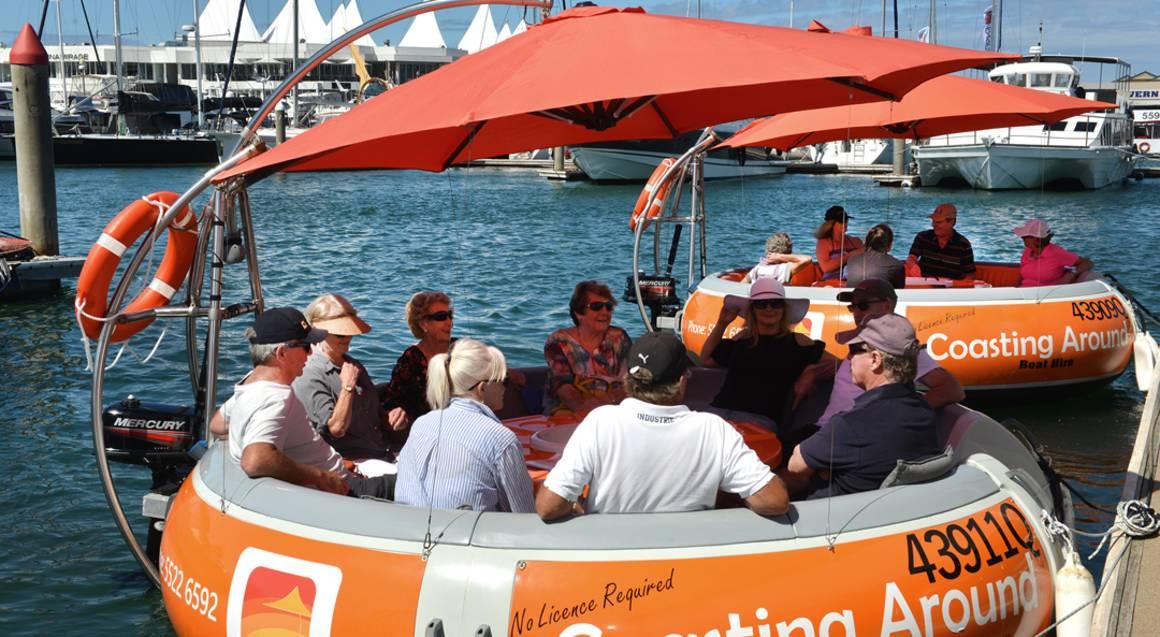 Luxury Round Boat Hire 1 hour - Gold Coast