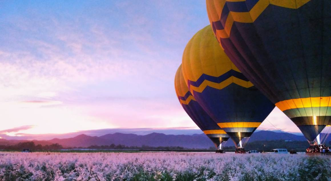 Hot Air Ballooning and White Water Rafting Adventure