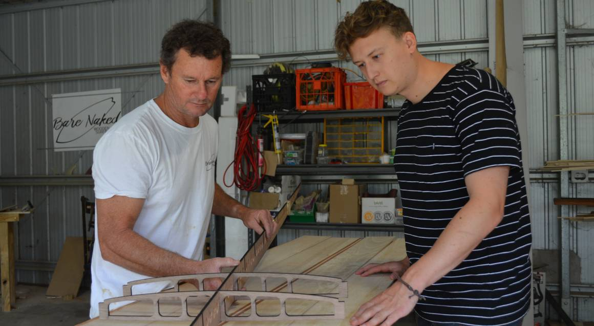 3 Day Wooden Surfboard Workshop with Custom Long Board