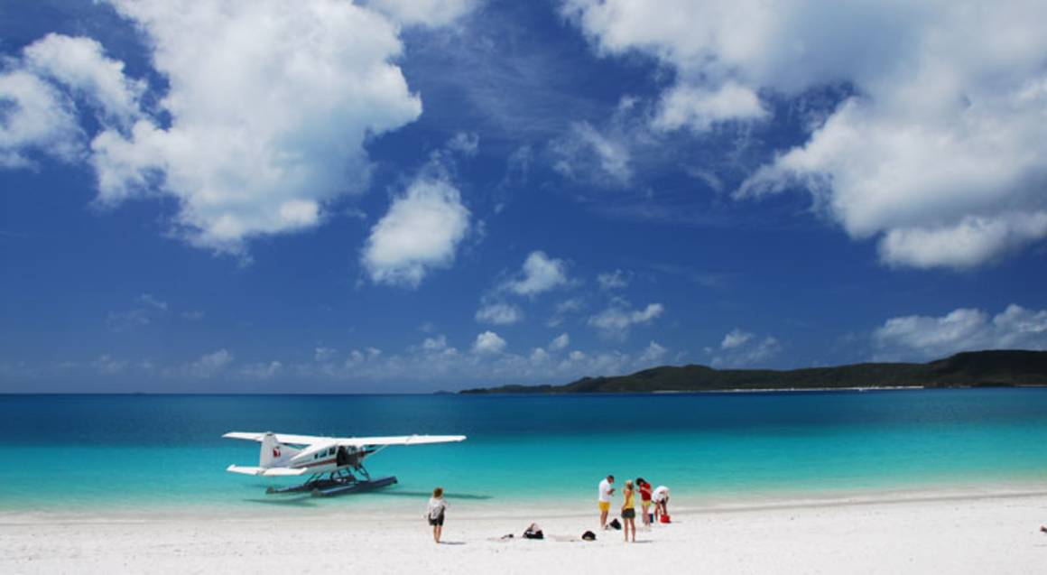 Seaplane Flight and Visit to Whitehaven Beach