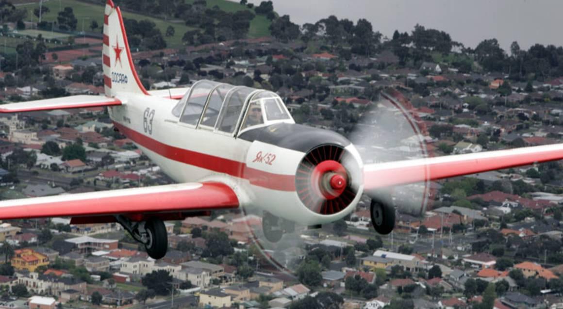 Yak 52 Aerobatic Adventure Flight