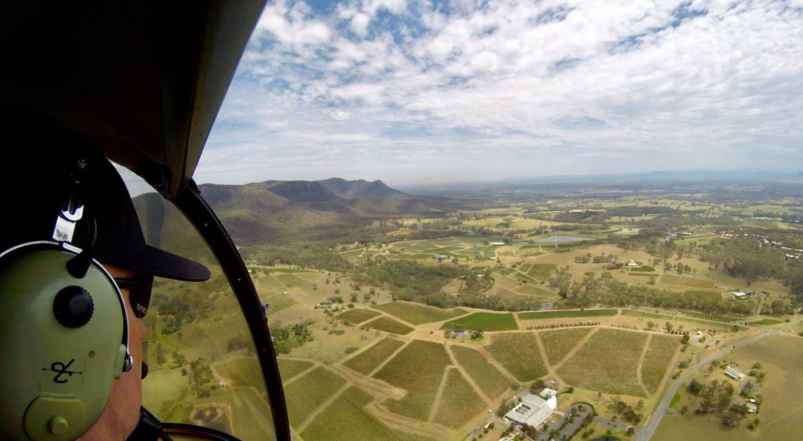 Hunter Valley Scenic Helicopter Flight - 12 Minutes - For 2