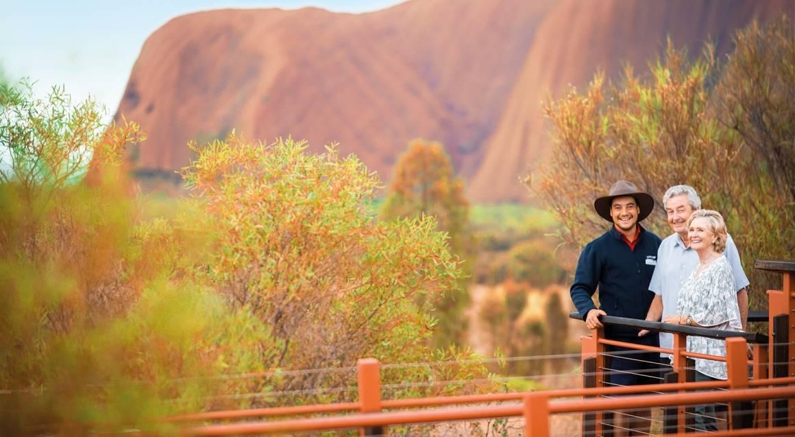 Uluru Guided Morning Base Walk with Breakfast