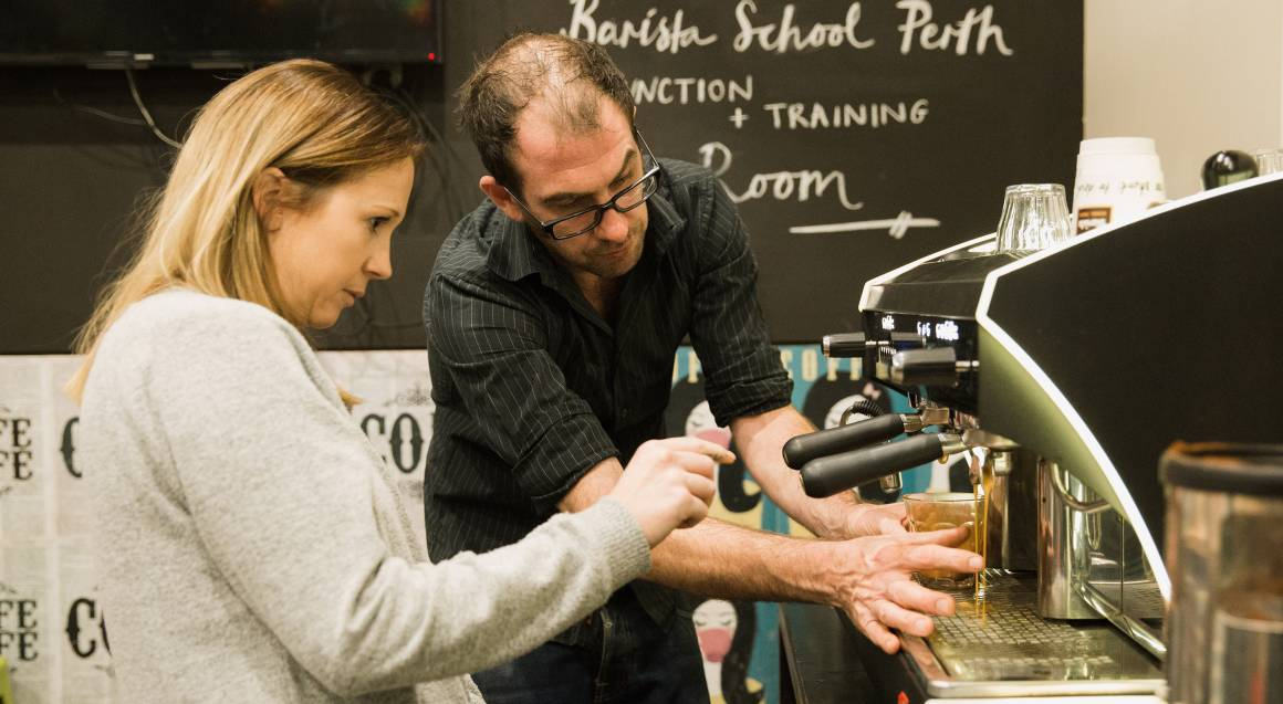 Full Day Fast Track Barista Workshop with Light Lunch