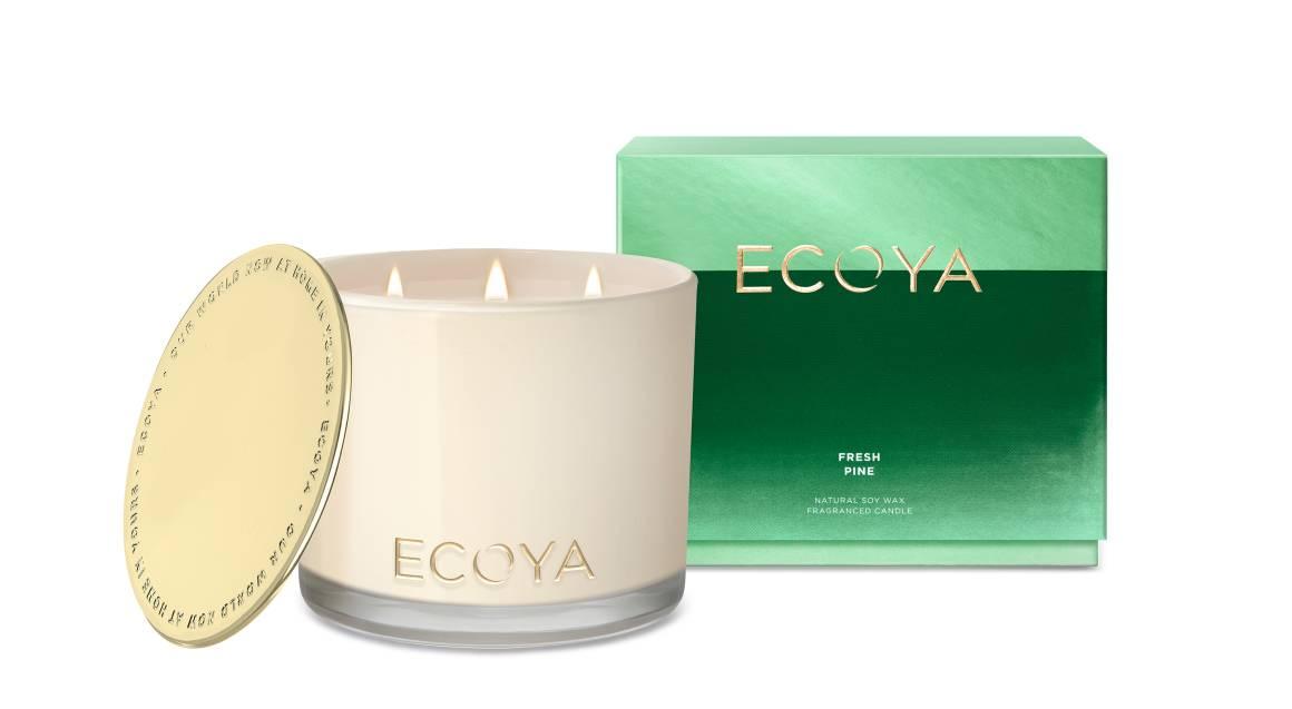 Ecoya Natural Soy Wax Candle - Fresh Pine