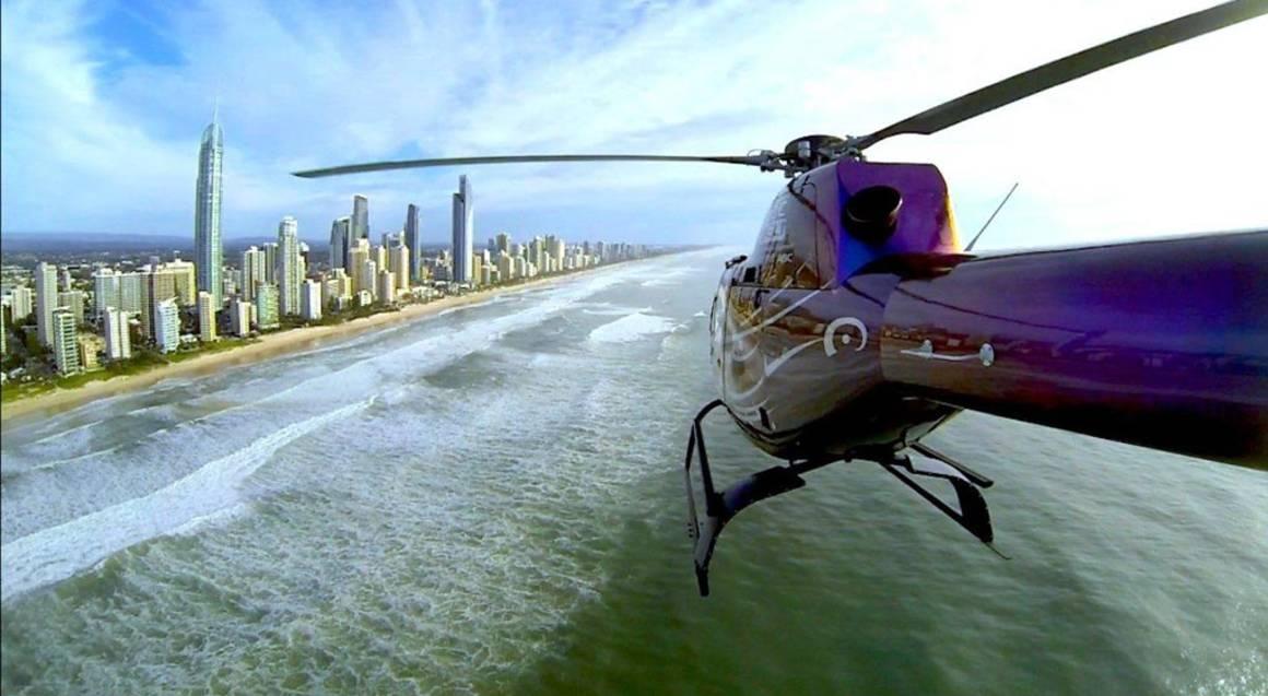 Helicopter Scenic Joy Flight Gold Coast - 10 Minutes - Child