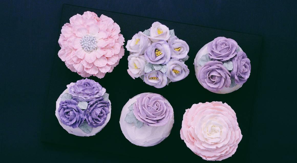 Buttercream Flower Piping Art Class - 3 Hours