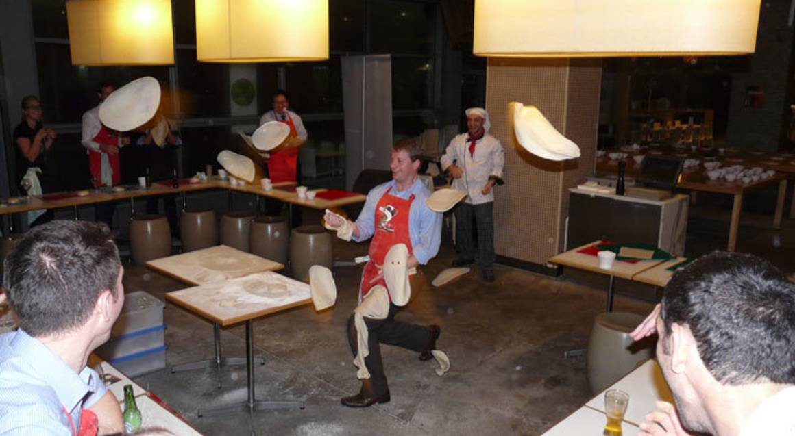 Pizza Making Class - Corporate Group - For 12