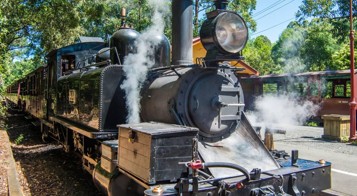 Puffing Billy Heritage Steam Train Journey - Half Day Tour