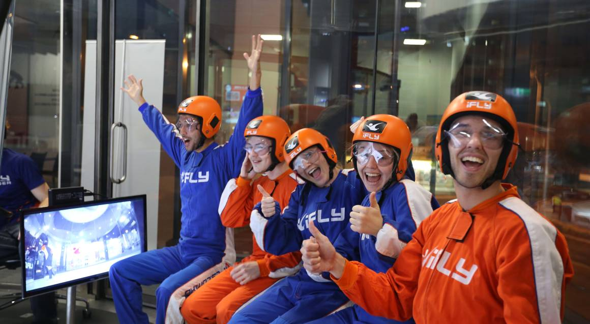Friends and Family Indoor Skydiving Package - 10 Flights
