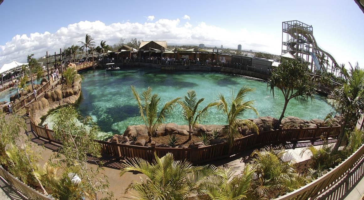 Sea World shark bay lagoon