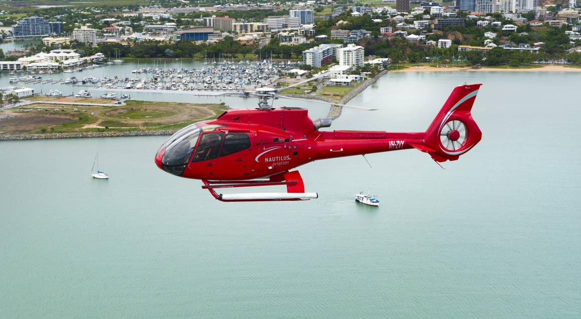 Scenic Helicopter Flight Over Townsville - 30 Minutes