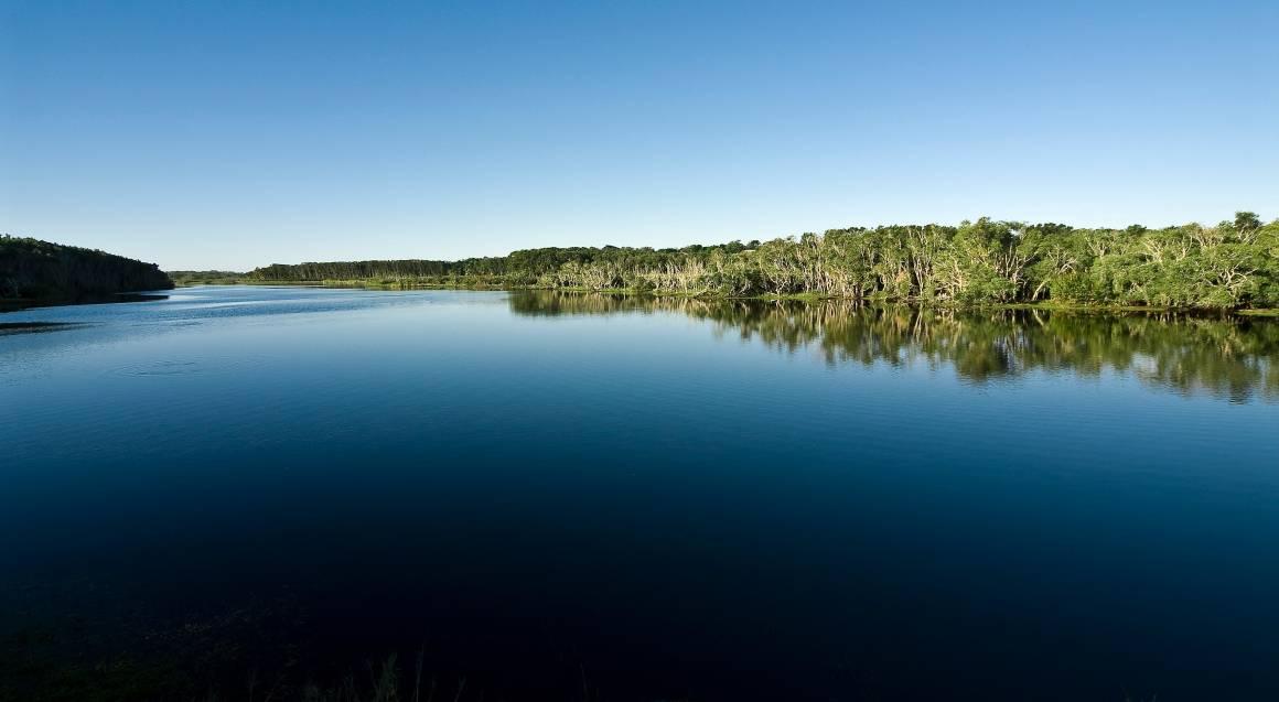 The Byron at Byron Resort and Spa lake