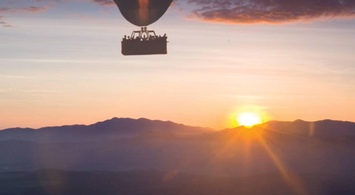 Hot Air Ballooning Over Atherton Tablelands
