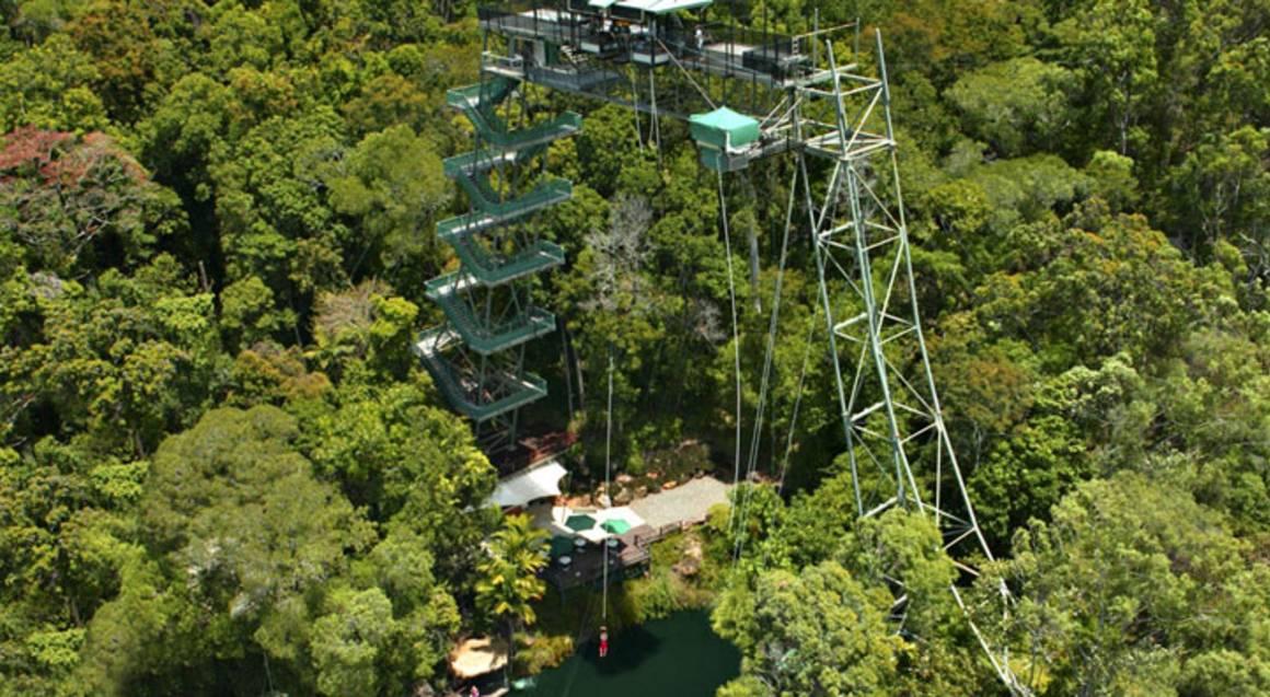 World's Fastest Minjin Jungle Swing