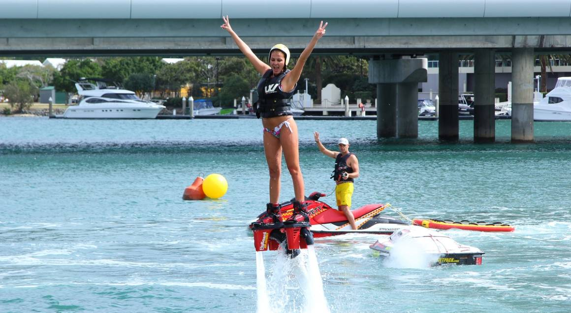 Jetpack or Flyboard Teaser Experience - Perth