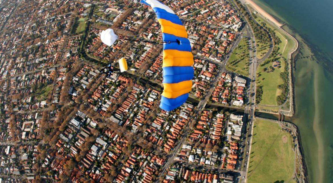 Skydive Over St Kilda, Melbourne - 15,000ft - Weekend