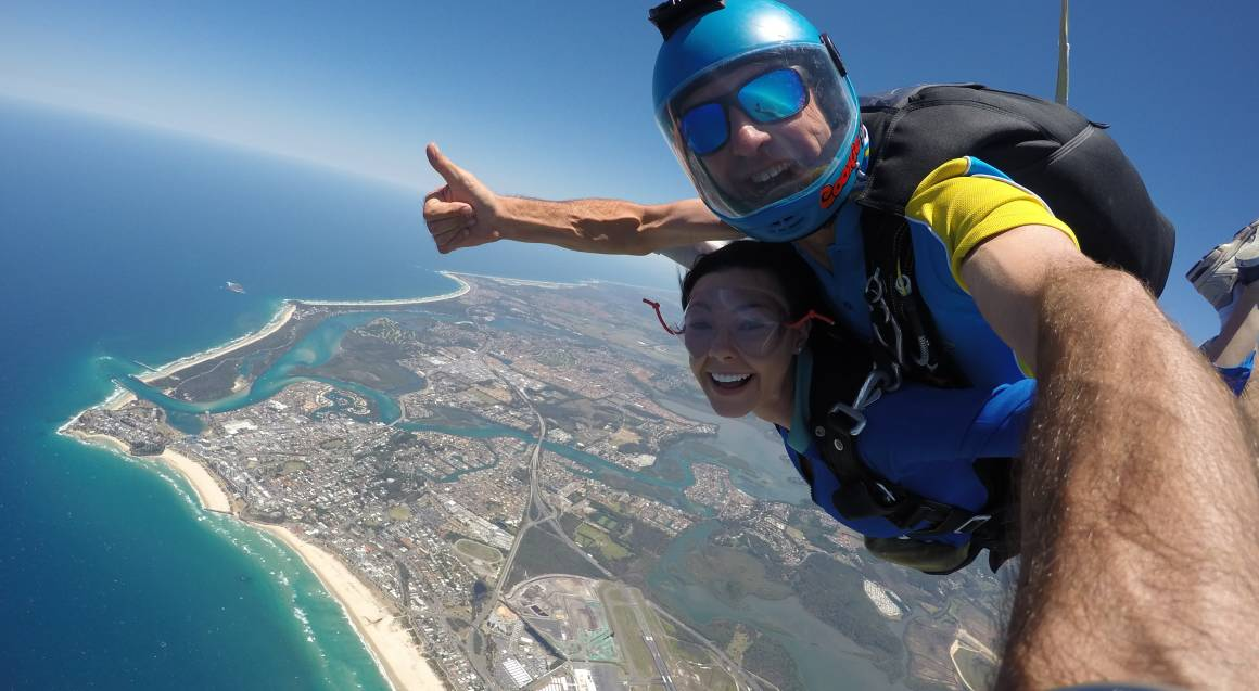 Gold Coast Tandem Beach Skydive