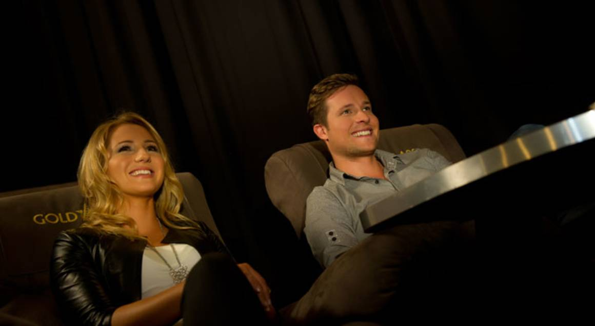 Gold Class Cinema and Dinner Date - For 2