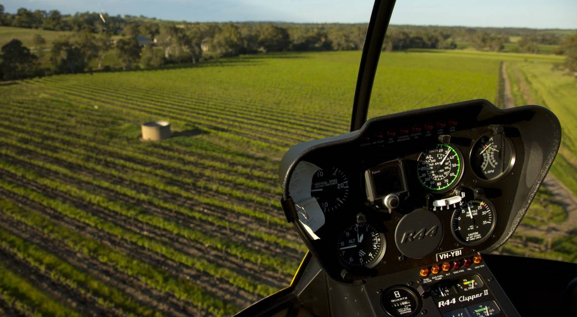 Private Helicopter Flight with Winery Stop and Tasting