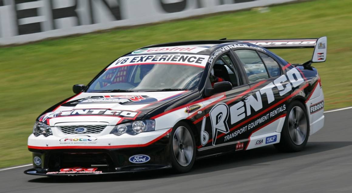V8 Race Car Hot Laps Ride with Photo - Sydney - For 2
