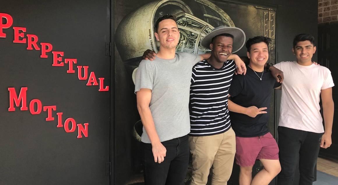 Elude Escape Rooms group of boys